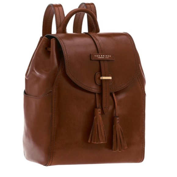 f9bfd70bd8 The Bridge Firenze 1969 Bags | Donna Backpack Italian Leather | Poshmark